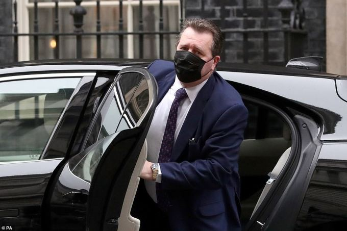 Chief whip Mark Spencer was physically in Downing Street for the pre-Budget Cabinet meeting this morning