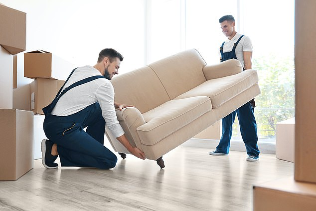 One in five people say they have experienced damage to large furniture items, whilst 17 per cent say damage has been caused to glassware, crockery or electronics