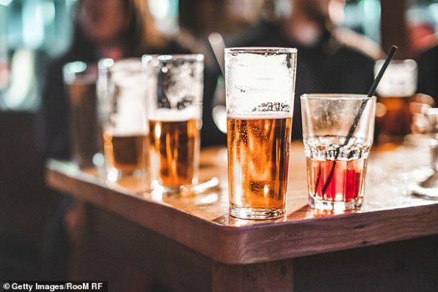 During the last two weeks of May, inpatient alcohol withdrawal rates were 84% compared to the same two weeks in 2019 (file image)