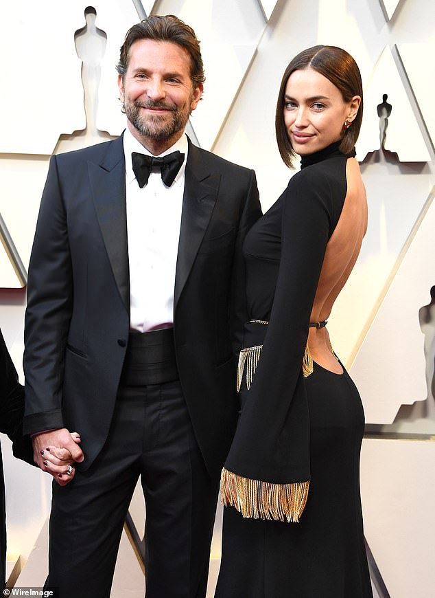 Exes: The fashionista shares Lea with 46-year-old actor Bradley Cooper, who she was with for four years before going their separate ways in 2019;  the former couple are seen here in 2019