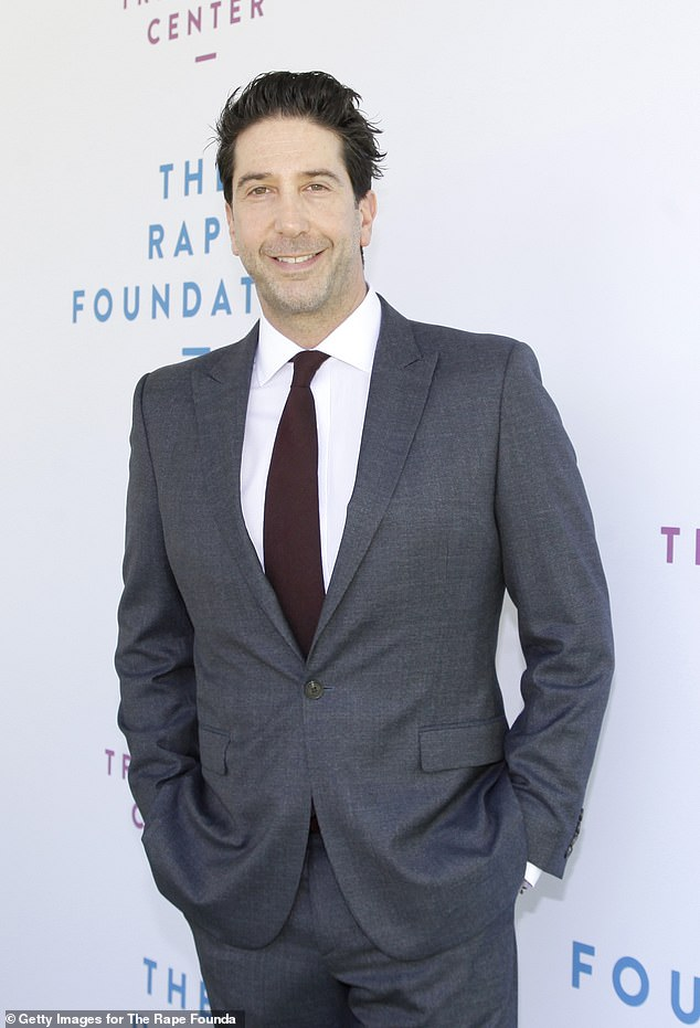 The one with the reunion: David Schwimmer revealed that he will join his former co-stars to finally tape the Friends reunion 'in a little over a month' during a chat on SiriusXM's Andy Cohen Live in early March