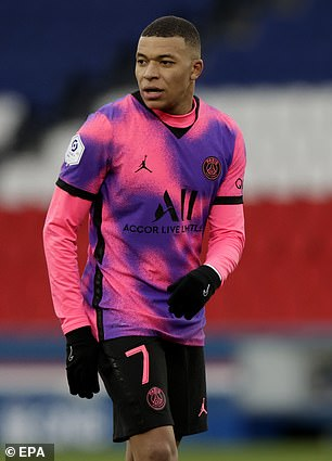 Kylian Mbappe has also been linked