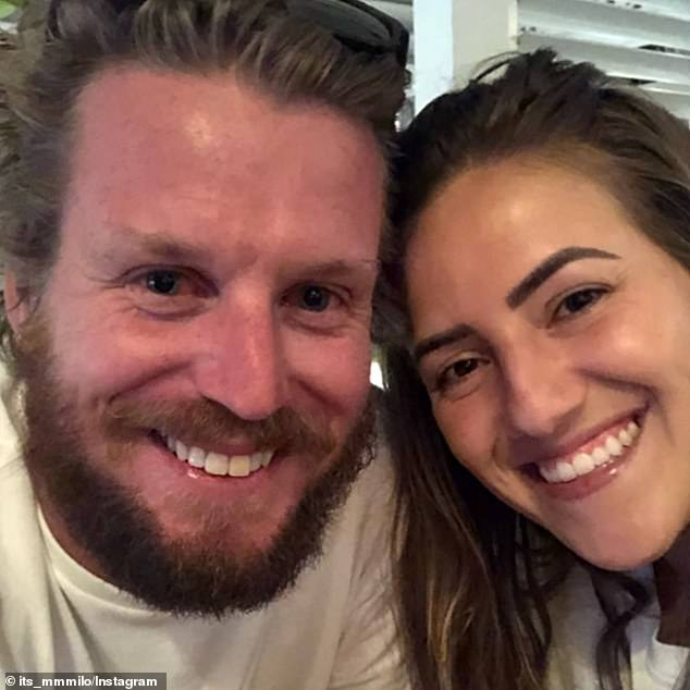 Gogglebox Star Milo [L] is set to tie the knot, according to Foxtel's LifeStyle channel Instagram account.  Seen here with his anonymous fiancée