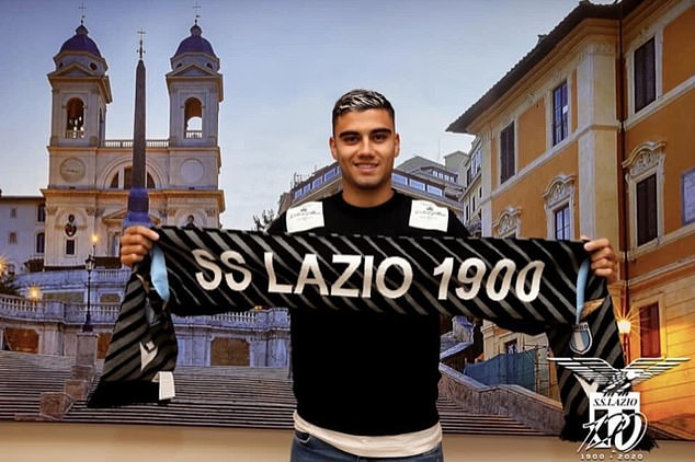 Lazio are unwilling to pay the £21million fee to sign Andreas Pereira permanently, say reports