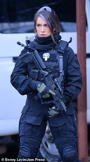 After leaving the IDF, Ms Odin said she has become her own defender and has become more outspoken
