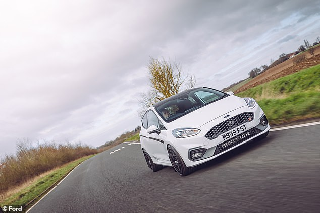 The Ford Fiesta (pictured) was the best-selling new car in February but still sits behind the Vauxhall Corsa in the standings for the year so far