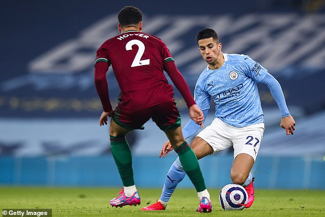 Wherever he is deployed, Joao Cancelo does his job superbly for the champions-elect