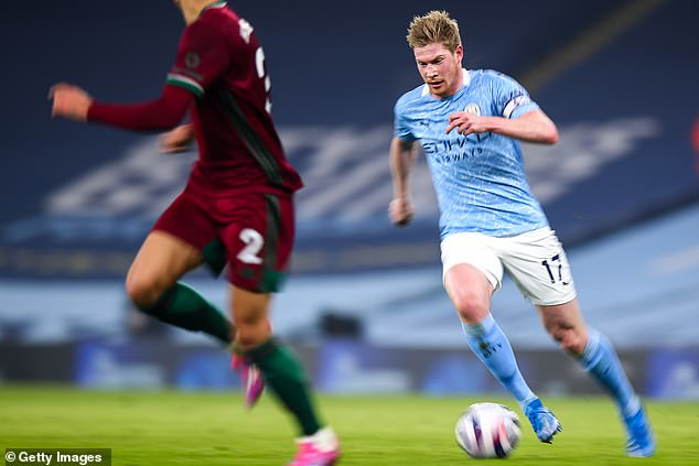 Belgian star Kevin De Bruyne remains the best player in the Premier League on his day