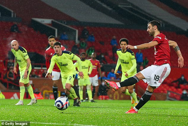 Fernandes' 22 goals and 13 assists have been crucial to Manchester United's season this term