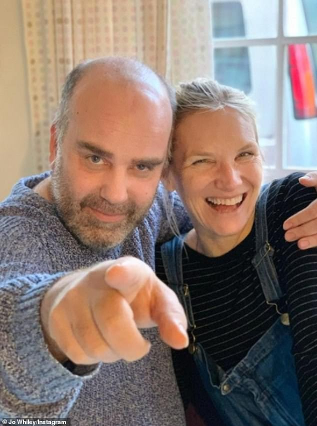 Jo Whiley wrote a similar tribute to Simon, posting: 'We woke up to the news that we have lost our beloved Willy aka Simon Willis and that today our family is private'