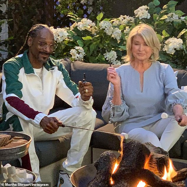 Best Friends: Martha Stewart delves deep into friendship with Snoop Dogg as they build their fledgling empire with a line of BIC lighters