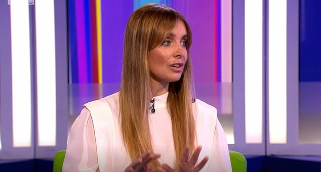 Honest:Louise Redknapp has revealed she was scared about writing about the last few years of her life that followed her divorce from ex-husband Jamie in her new book