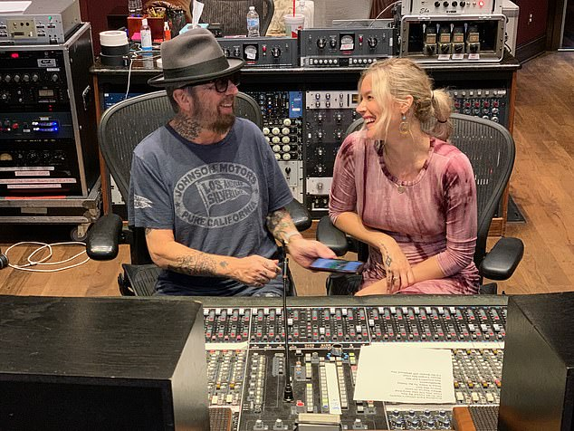 Singer Joss Stone has teamed up with Dave Stewart (pictured together) to write the songs for a stage version of novelist Audrey Niffenegger's best-selling weepie The Time Traveler's Wife