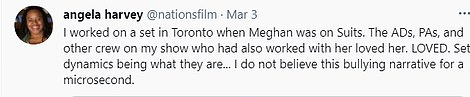 People who worked with Meghan on Suits claim she is a kind person - and was 'loved' by the cast and crew