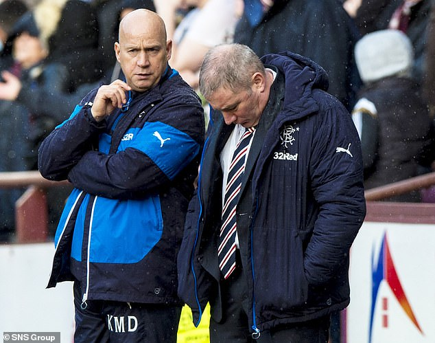 Ally McCoist tendered his resignation during the season after a disappointing run of results