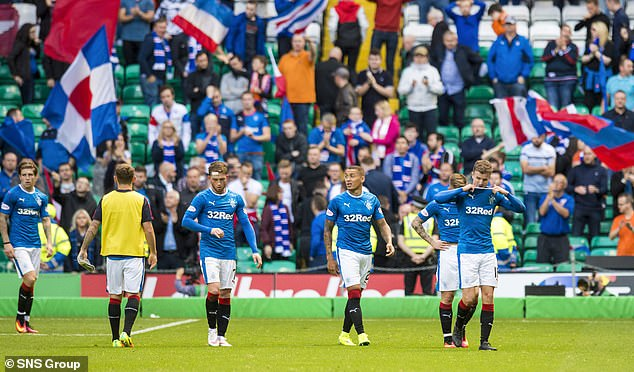 Rangers suffered two 5-1 defeats at the hand of rivals Celtic during their first season back