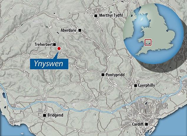Screams were heard coming from the Blue Sky Chinese takeaway in Ynyswen, Rhondda