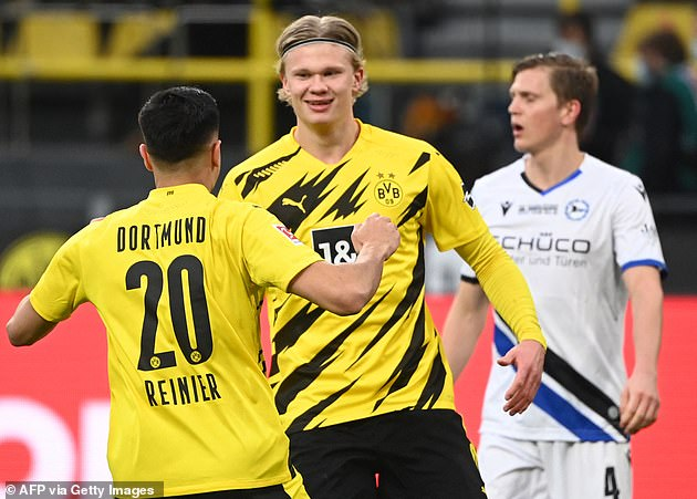 Haaland is one of the deadliest strikers in world football with 27 goals in 27 games this season