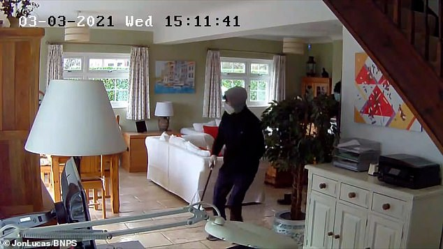 The burglars left behind two crowbars in an upstairs bedroom. Mr Lucas said the police have tested them for DNA and fingerprints but have not revealed the results