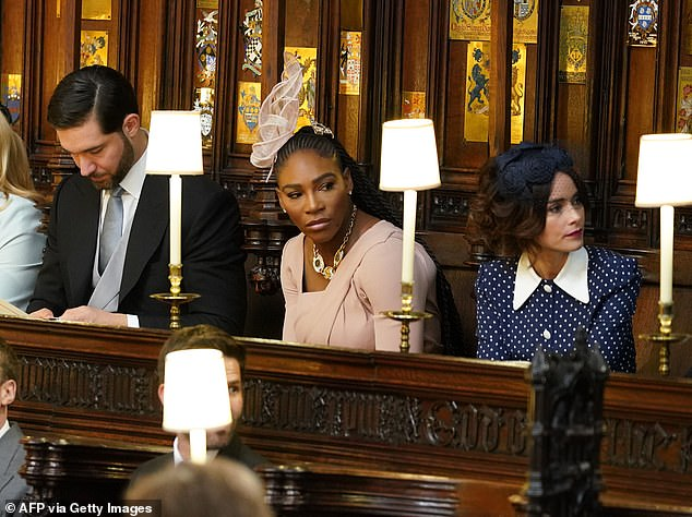 Tennis champ Serena Williams, who became friends with Meghan after meeting the actress at a charity event, regards Oprah as a mentor