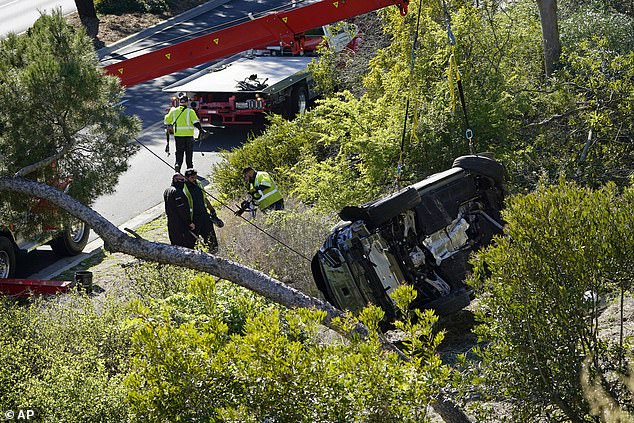 """Forensic experts have speculated that Woods may have been asleep at the wheel.Detectives are looking at data from the so-called """"black box"""" of Tiger Woods' SUV to get a clearer picture of what occurred"""