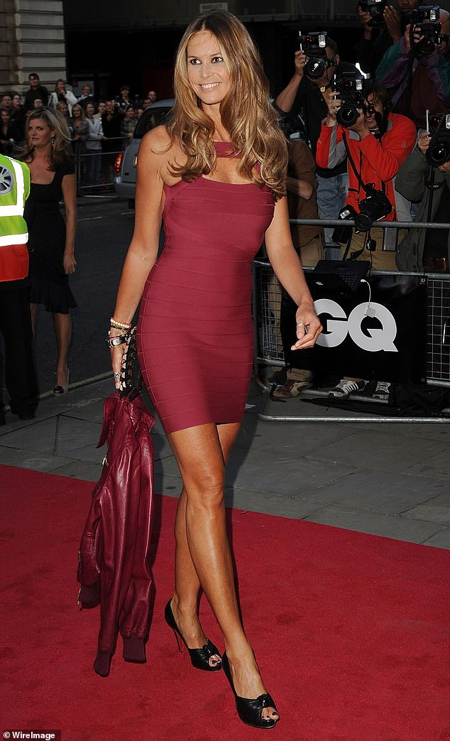 Known as 'The Body', Elle Macpherson (pictured above, in 2008) appears to have given her anti-vaxxer boyfriend Andrew Wakefield the elbow