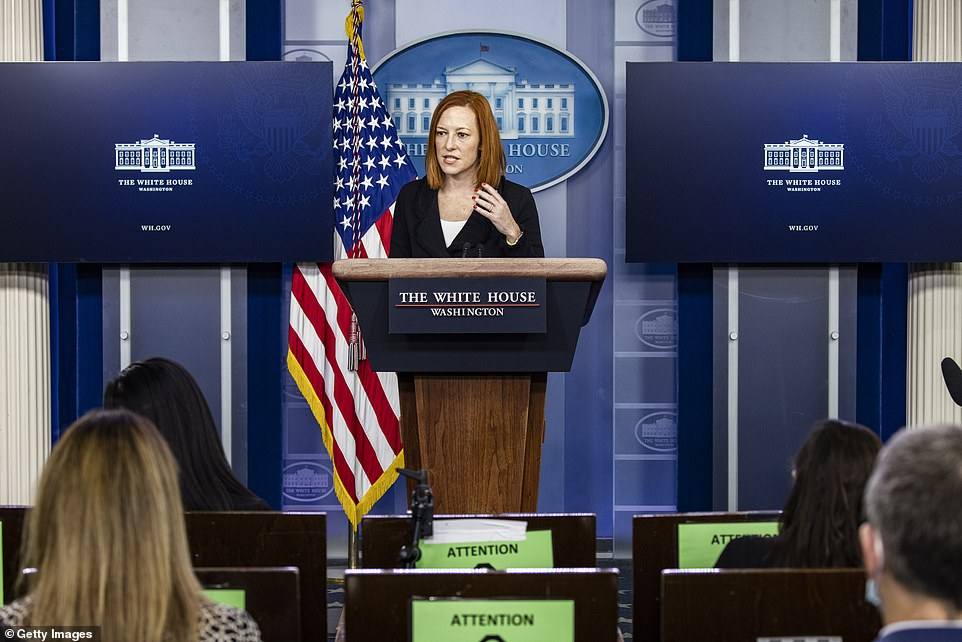 Despite Biden administration's floundering response to the crisis,in a press briefing on Friday, White House Press Secretary Jen Psaki dismissed Trump's border comments, slamming the former president's policies as 'ineffective' and 'inhumane'
