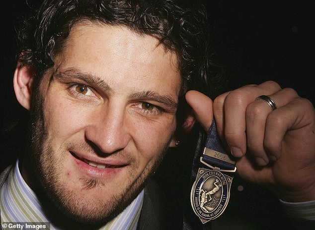 Brendan Fevola revealed that he sold his John Coleman Medal to feed his gambling addiction