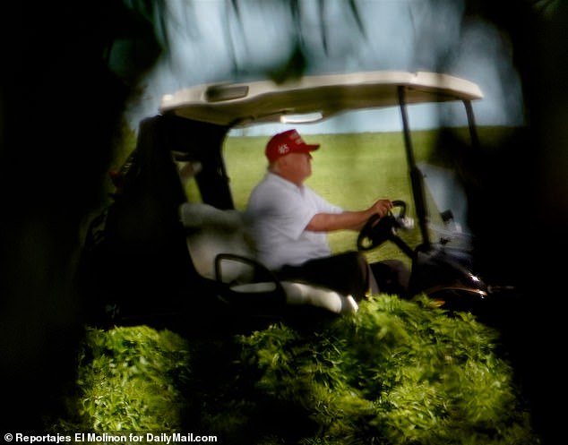 Donald Trump, seen Friday in West Palm Beach, has ordered the top three GOP fundraisers to stop using his name and likeness in donation drives