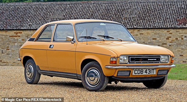 The Austin Allegro was pipped to the post for the top spot by the Reva G-Wiz