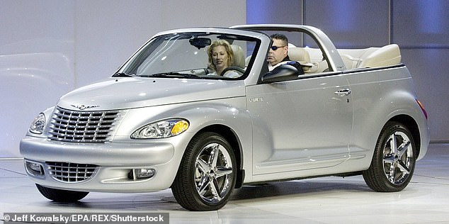 The experts named the Chrysler PT Cruiser 'a ghastly chunk of retro automotive'