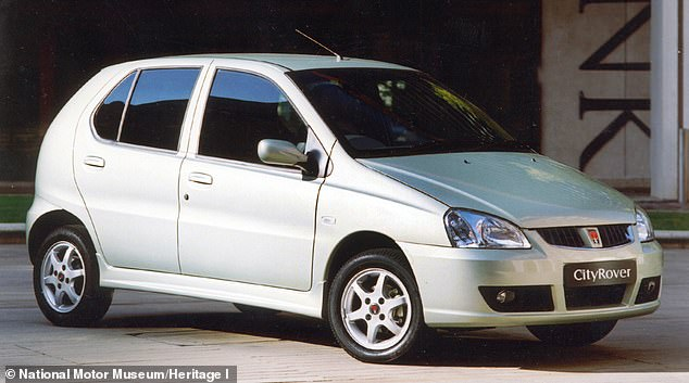 The Rover City Rover was launched in 2003 as a version of the Indian developed Tata Indica