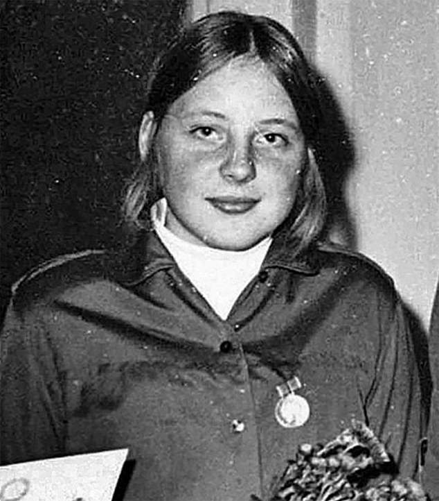 Merkel, head of the EU's richest and most influential nation, drove its vaccine procurement policy, and for the worst of reasons (Picture, Angela Merkel in 1970)