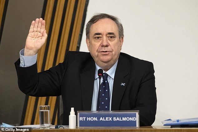 Mr Salmond won a judicial review against the Scottish Government over its investigation into sexual misconduct allegations against him. The court found the inquiry was 'tainted by apparent bias'