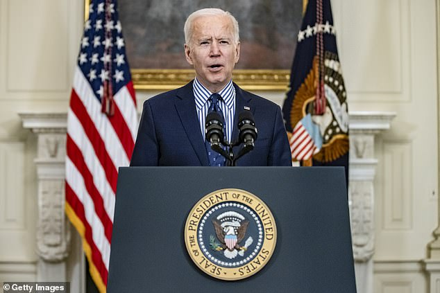 Biden could host a visit from Japanese Prime Minister Yoshihide Suge as soon as April, though the details have yet to be finalized, people familiar with the matter