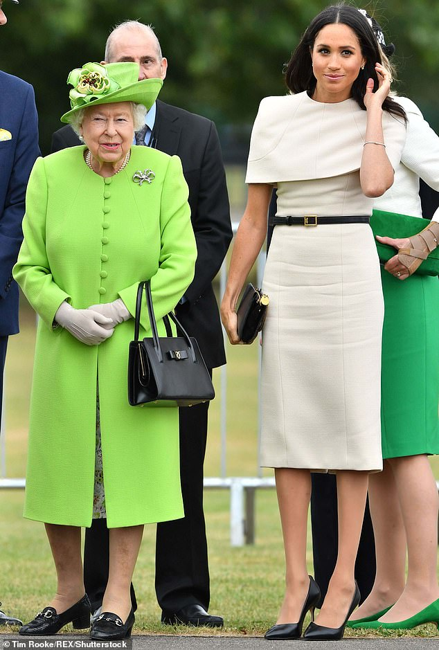 The Queen and the Duchess of Sussex attend a day of engagements together in Cheshire
