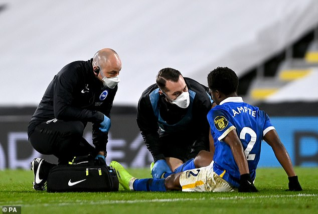 The 20-year-old suffered a hamstring injury in December and has not featured since