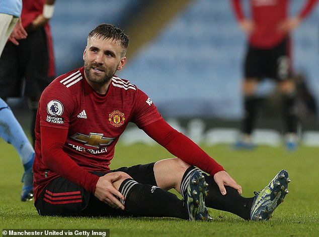 Neville hinted that Ole Gunnar Solskjaer may be over-using Shaw and raised fitness concerns