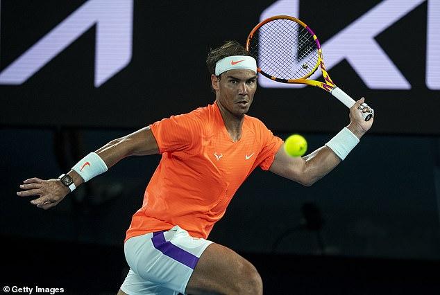 Djokovic reclaimed the No 1 spot from Rafael Nadal (above) back in February 2020