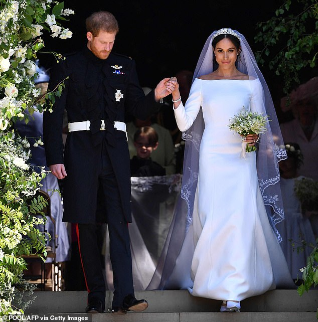 Secret: Prince Harry and Meghan Markle have revealed that they were married in secret three days before their royal wedding on May 19, 2018