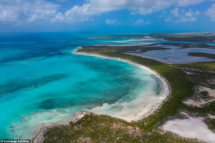 The island, which is known as St Andrew's or Little Ragged Island is the largest private island currently listed for sale