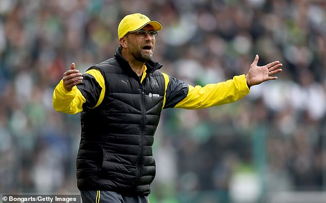 Klopp later cited 'no players being fit' as a primary problem in Dortmund's collapse