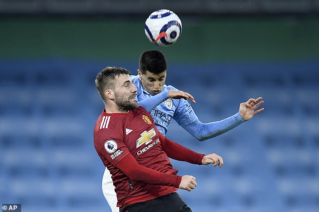 Shaw has been outstanding for Ole Gunnar Solskjaer's men so far this campaign