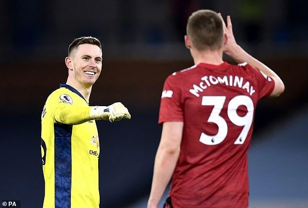 Dean Henderson impressed as Man United ended City's 21-match winning streak on Sunday