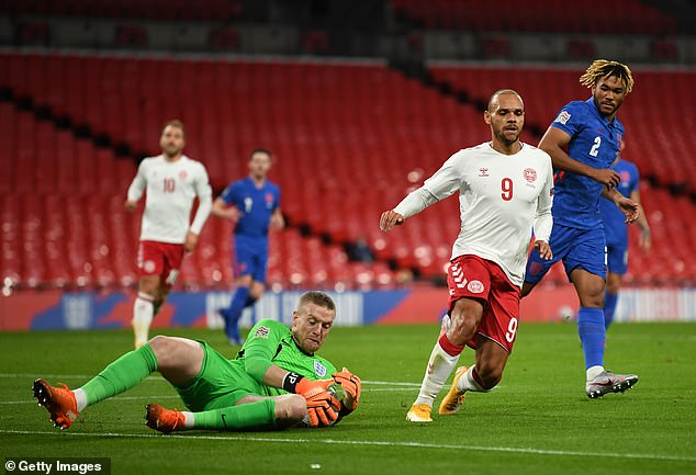 Henderson is hoping to usurp Jordan Pickford and become England's No 1 in the near future