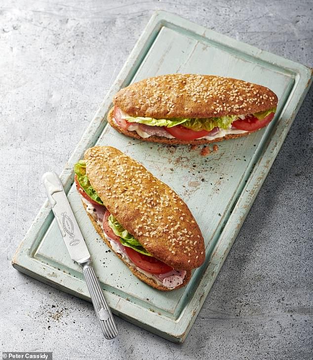 Filled sub rolls