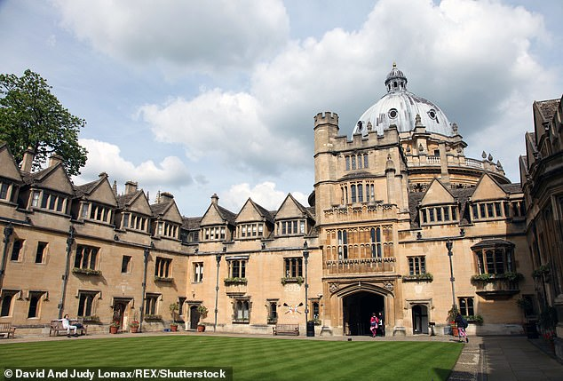 In 2018, Mr Siddiqui, who studied modern history at Brasenose College (pictured), Oxford, tried to sue his former university