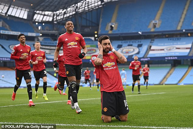 Bruno Fernandes was once again on the scoresheet with his 16th league goal of the season