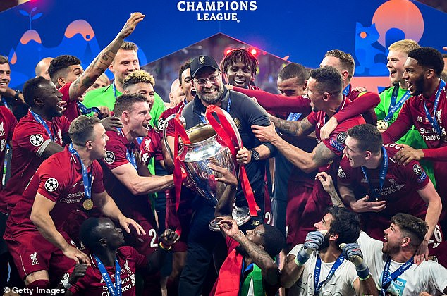 The German boss also won the Champions League with Liverpool in Madrid back in 2019