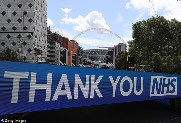 There will be enormous tributes to the NHS during the Carabao Cup final at Wembley in April